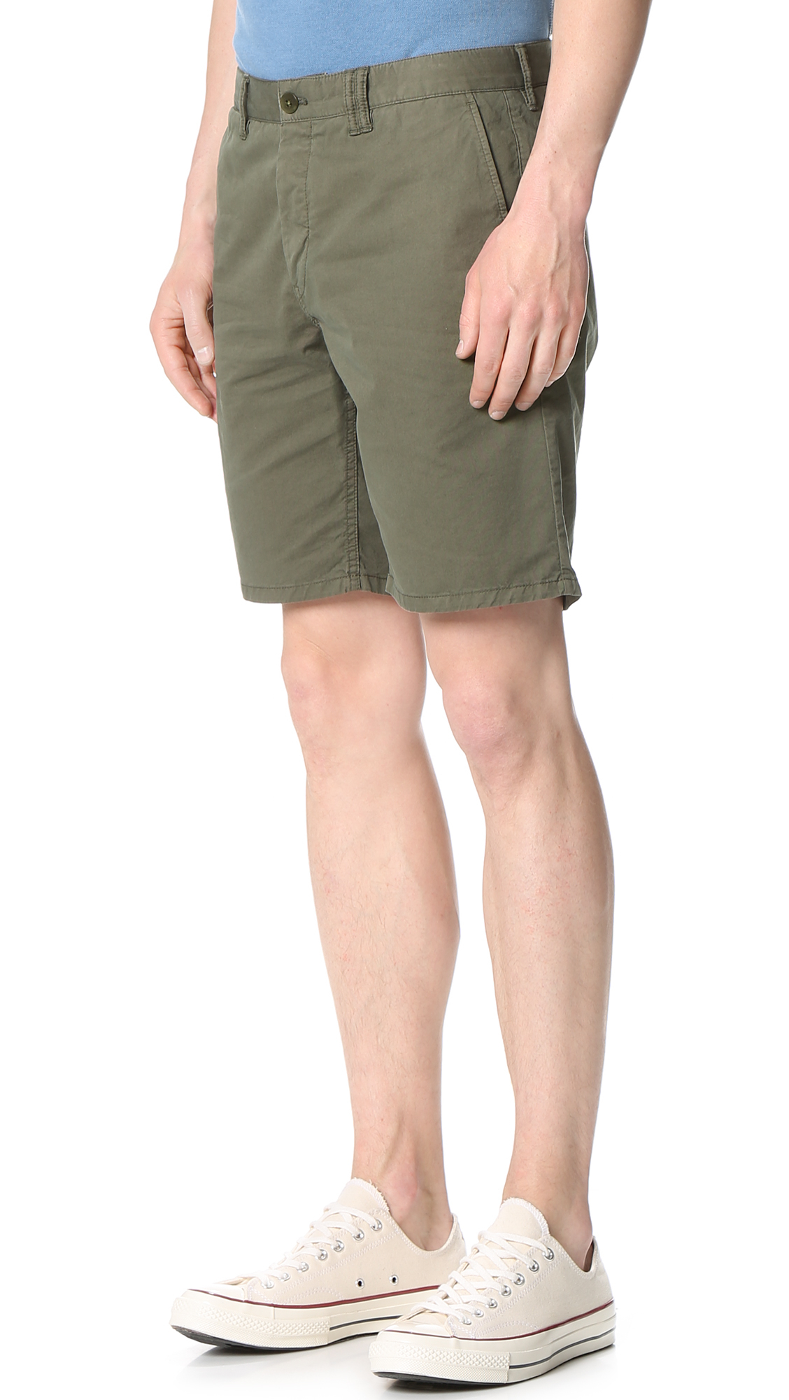 cf514bce62a Norse Projects Aros Light Twill Shorts in Green for Men - Lyst