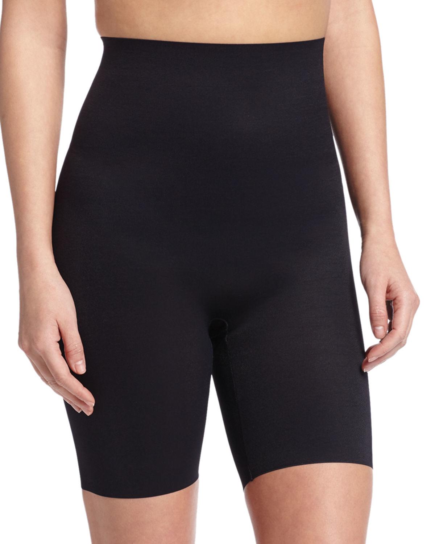 Wacoal Zoned 4 High-waist Shaping Shorts in Black