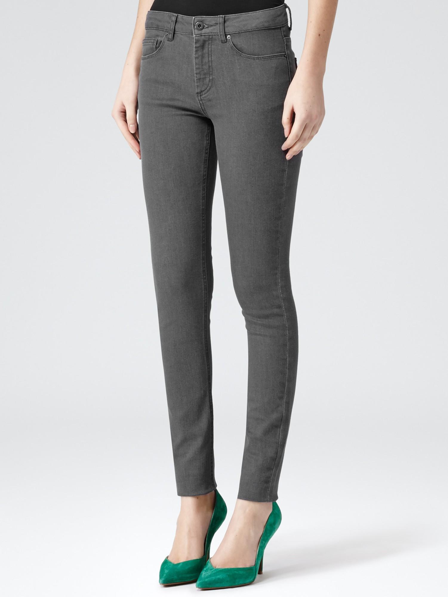 Reiss Skinny Smith Jeans in Grey (Grey)