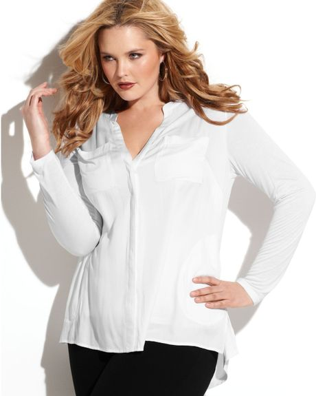 Discover women's plus size tops with ASOS Curve. Shop our range of plus size blouses, going out tops, t-shirts & many more plus size styles at ASOS. ASOS DESIGN Curve ultimate top with long sleeve and v-neck in white. £ River Island Plus Basic Jersey Scoop Neck T-Shirt. £ ASOS DESIGN Curve short sleeve high neck top.