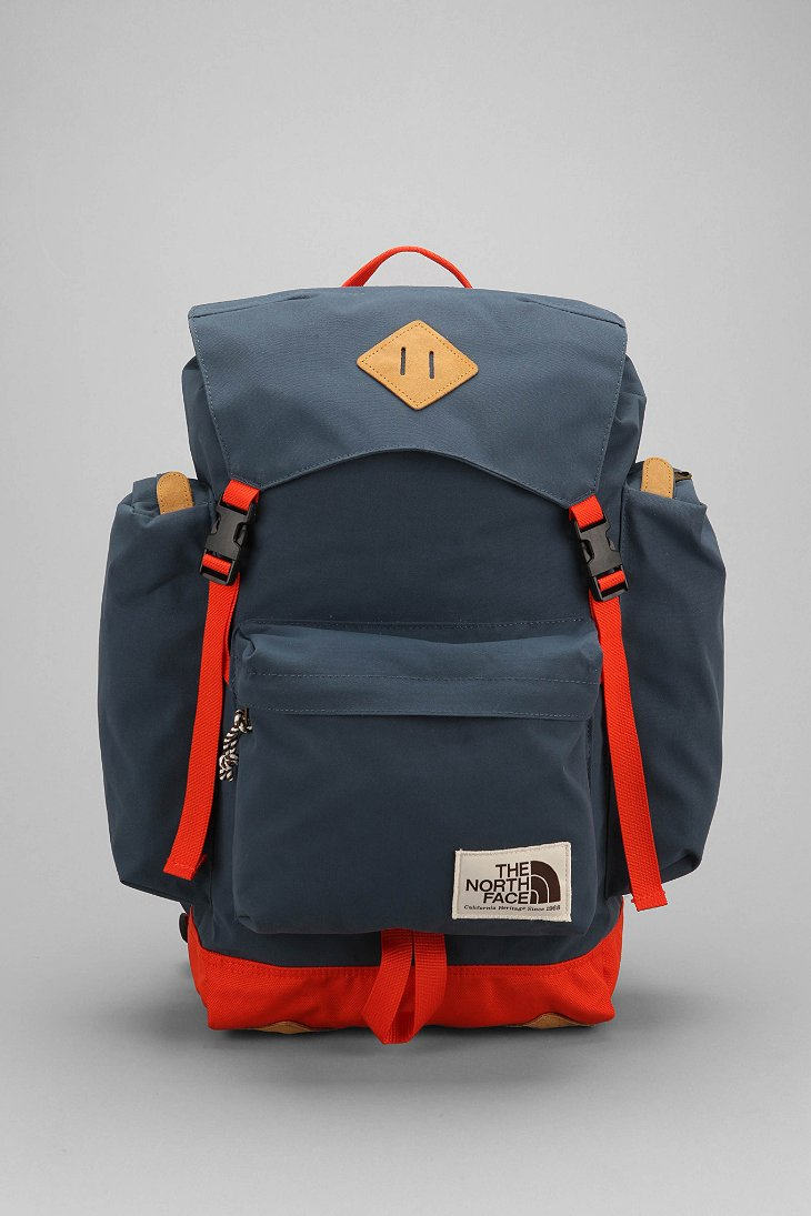 lyst the north face premium rucksack in blue for men. Black Bedroom Furniture Sets. Home Design Ideas