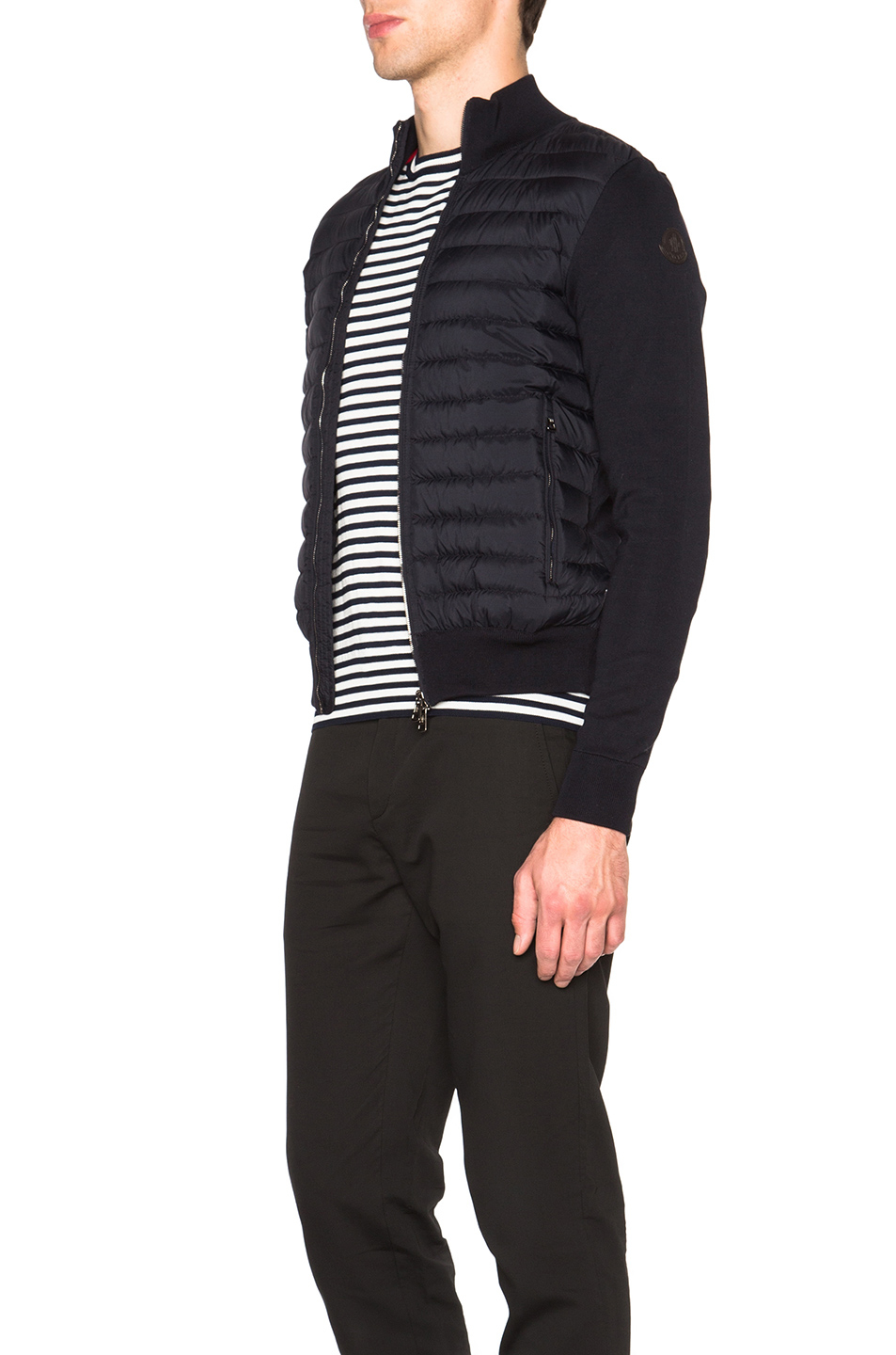 Canada Goose coats sale price - Moncler Maglia Tricot Cardigan Jacket in Black for Men (Blue) | Lyst