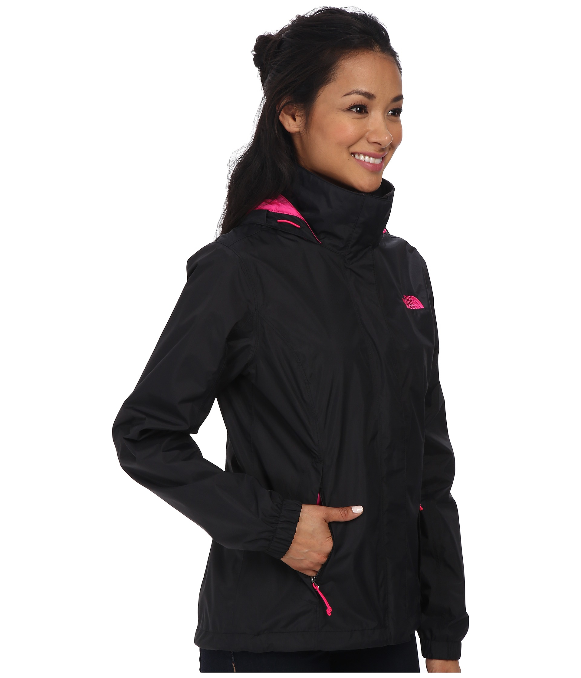 0674fad60383 ... official store lyst the north face resolve jacket in black 04c2e abf4c