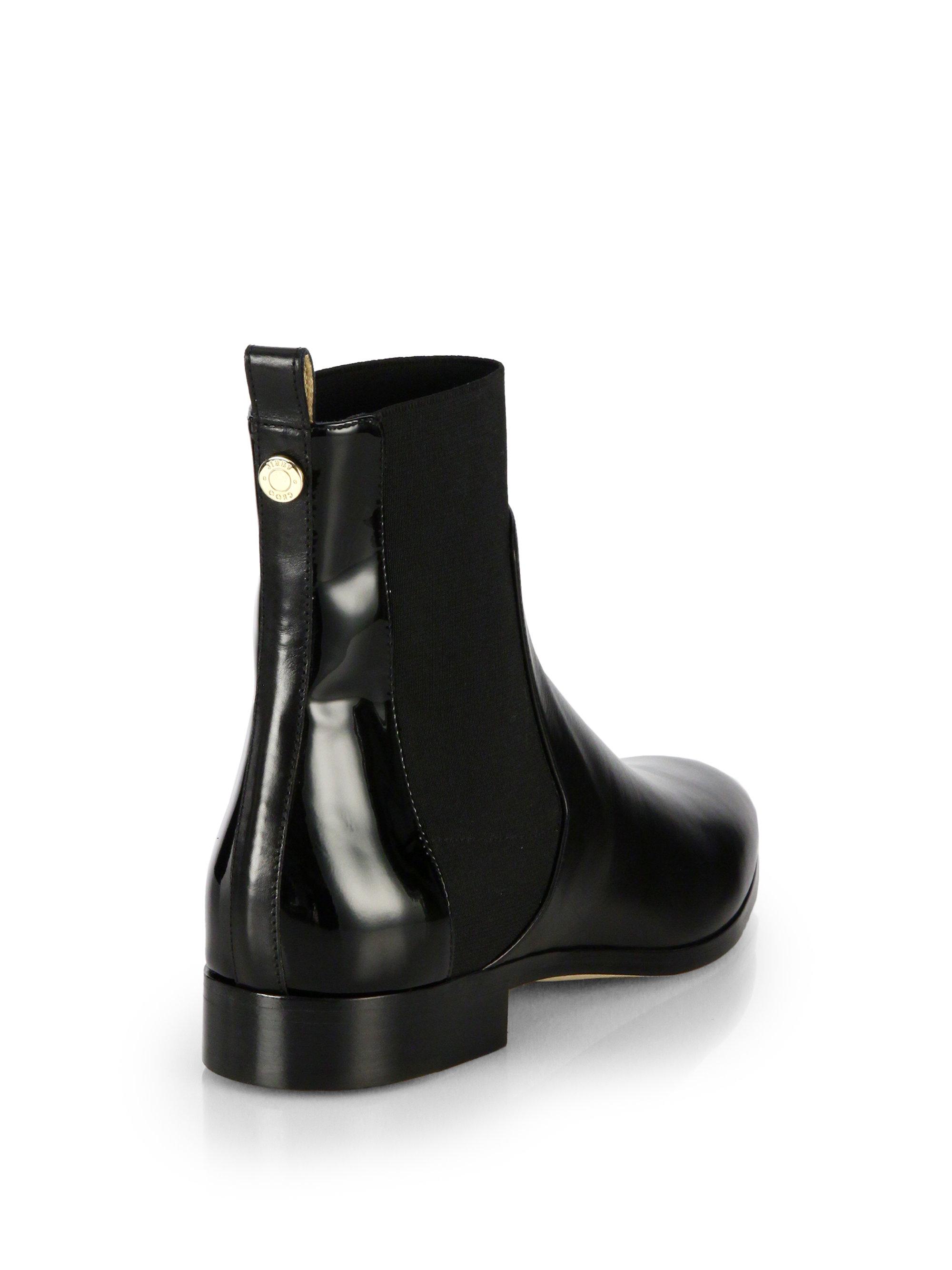 Jimmy choo Suede Merril Flat Chelsea Boots sP1d6