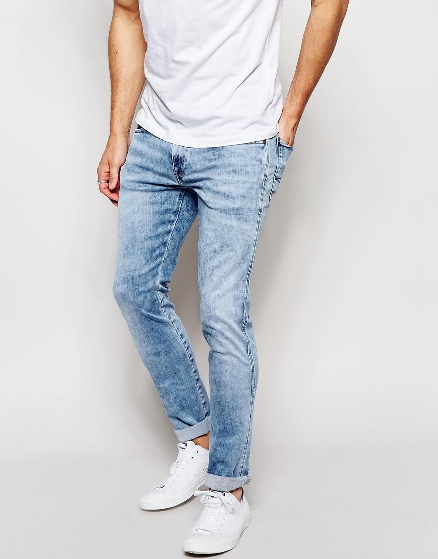 28e64a69db12f Replay Jeans Hyperflex Anbass Slim Fit Comfort Ultra Stretch Light Blue  Wash for men