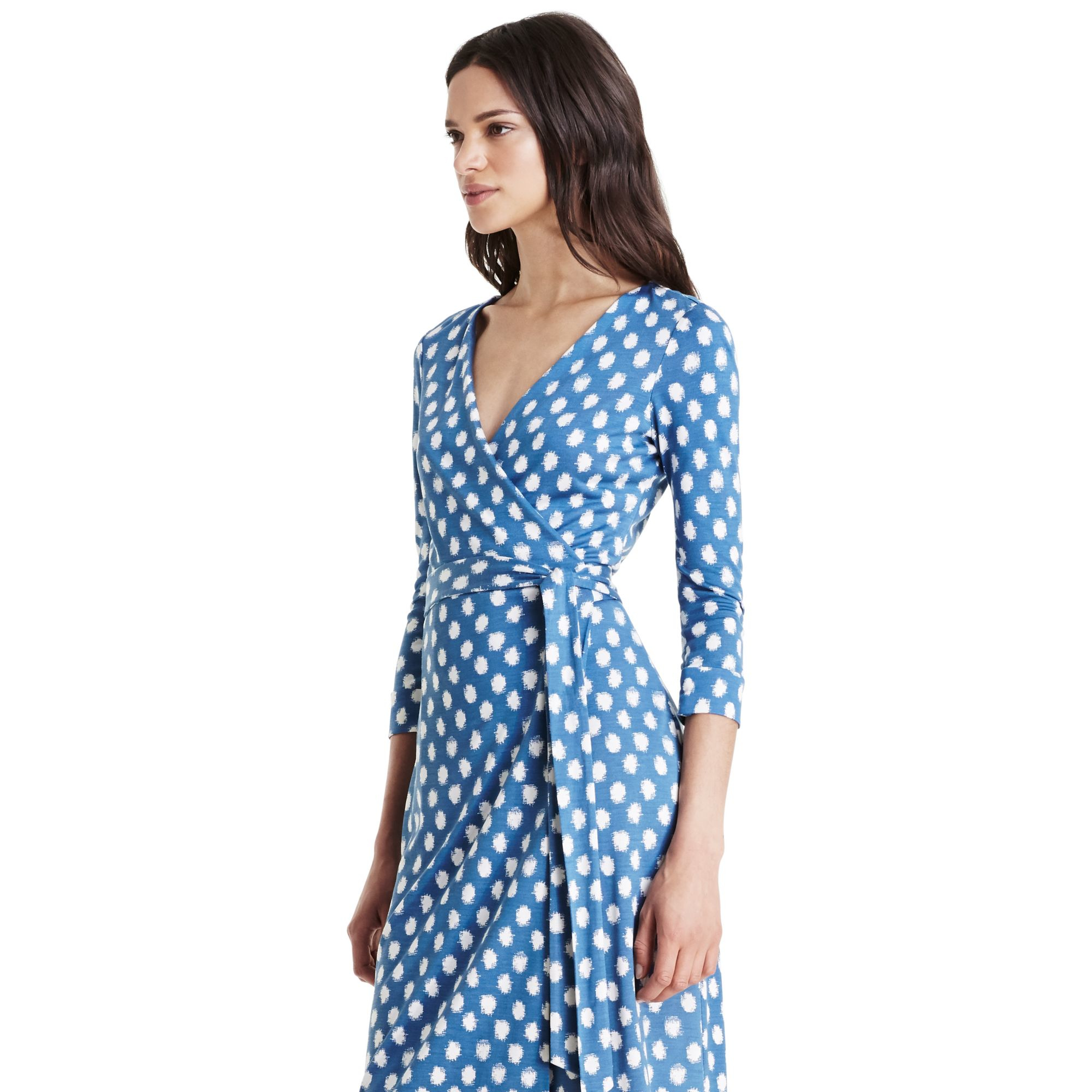 Lyst diane von furstenberg new julian two silk jersey for Diane von furstenberg clothes