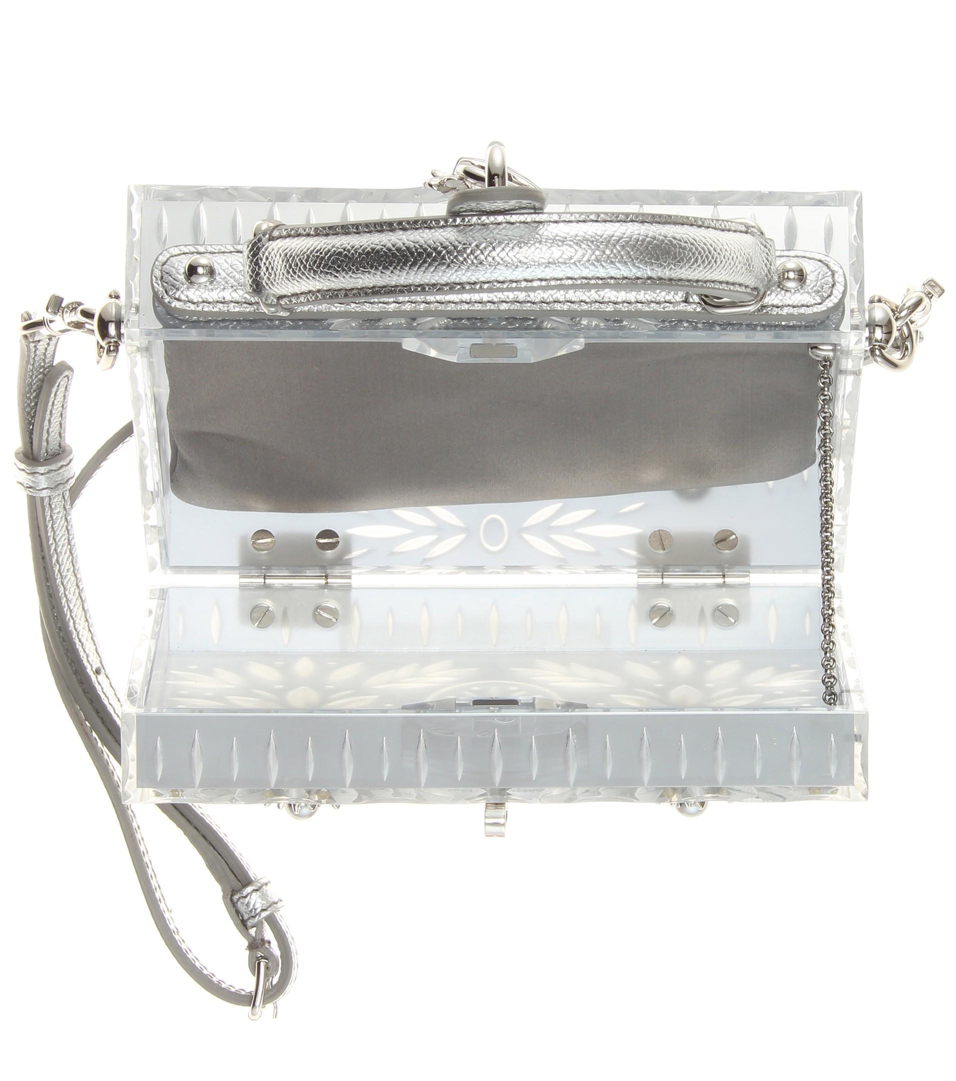 Lyst - Dolce   Gabbana Dolce Cinderella Embellished Shoulder Bag in ... 9e789cd227d0d