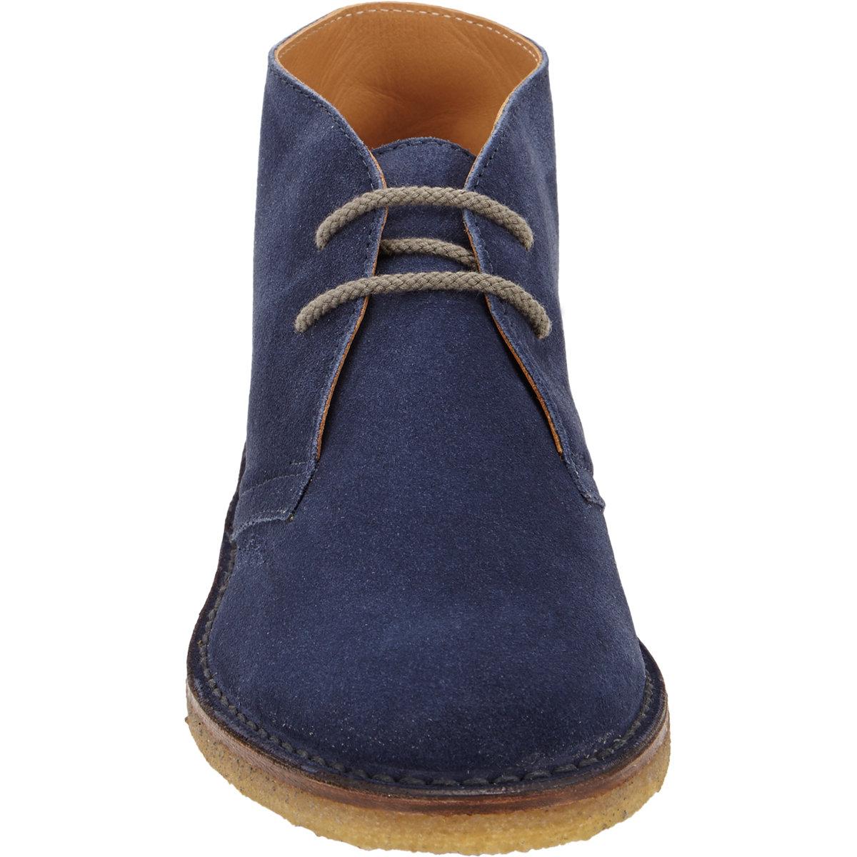 Lyst Barneys New York Suede Desert Chukka Boots In Blue