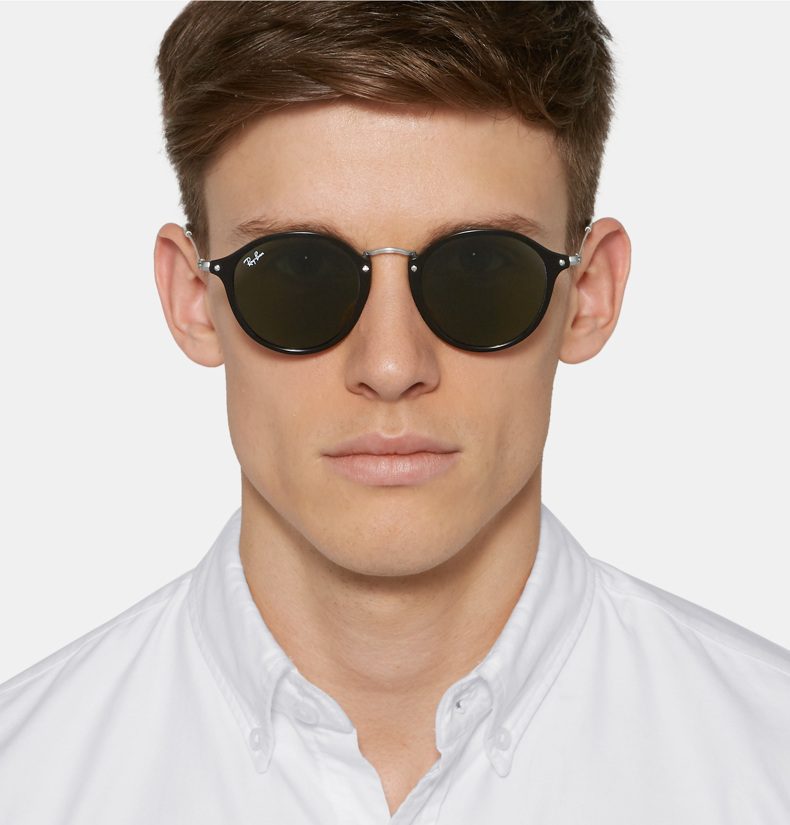Leather Framed Ray Bans Www Tapdance Org