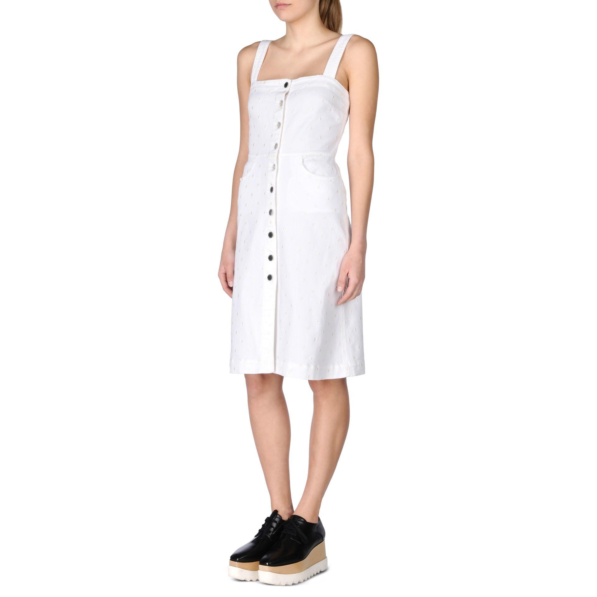 5b9d9eafe8 Lyst - Stella McCartney White Linda Dress in White