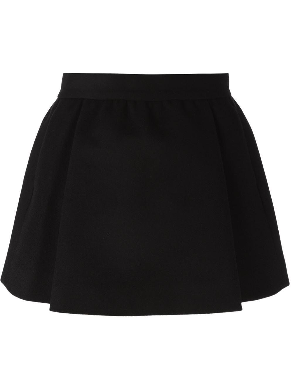 dsquared 178 pleated skirt in black lyst