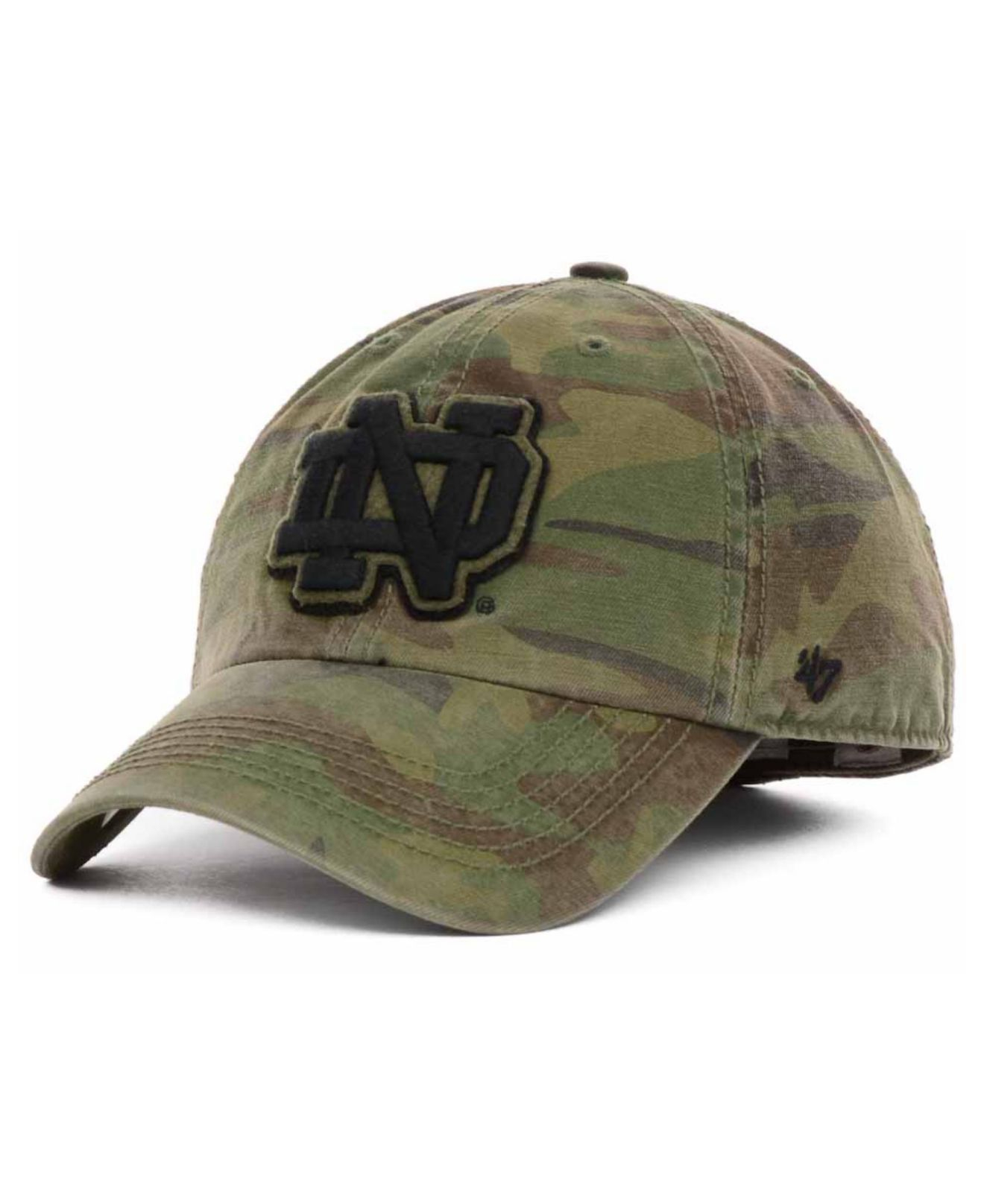be1161f822a Lyst - 47 Brand Notre Dame Fighting Irish Movement Franchise Cap in ...
