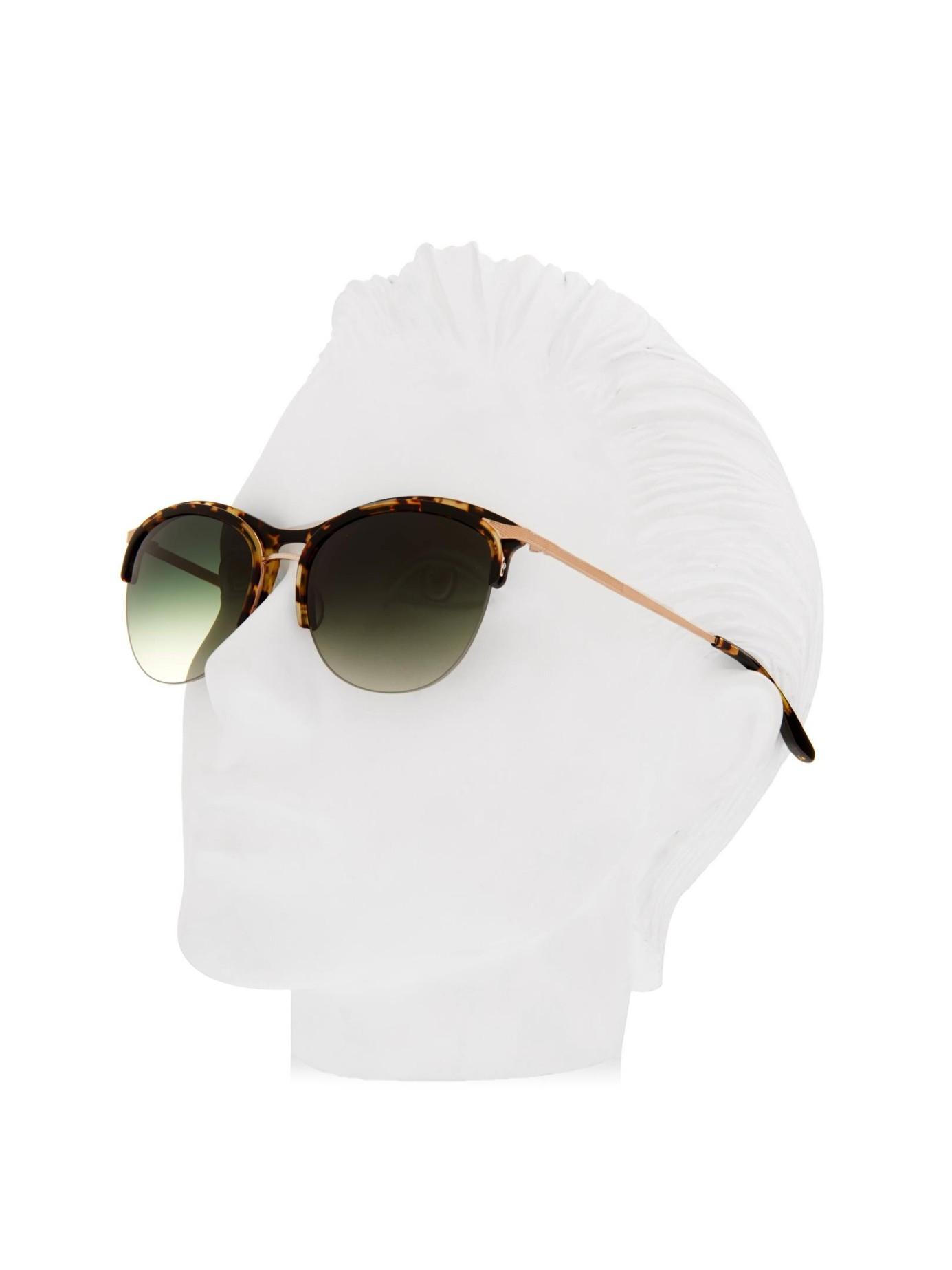 Seraphina Frame Perreira Half Sunglasses Barton Multicolor On8m0vNw