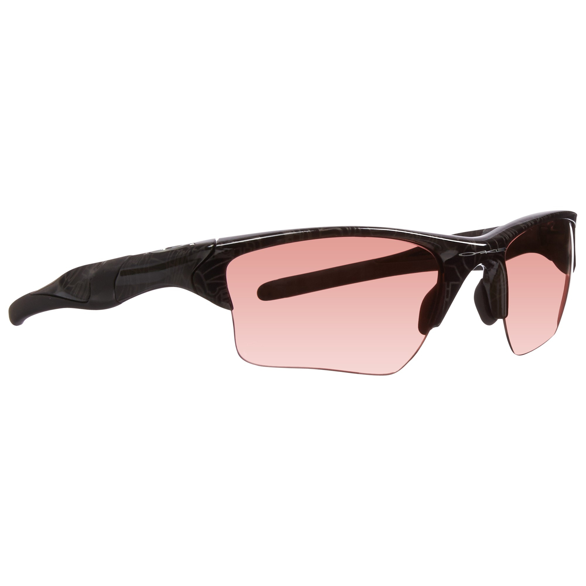 f26a71207d Lyst - Oakley Half Jacket Wrap Around Sports Sunglasses in Pink