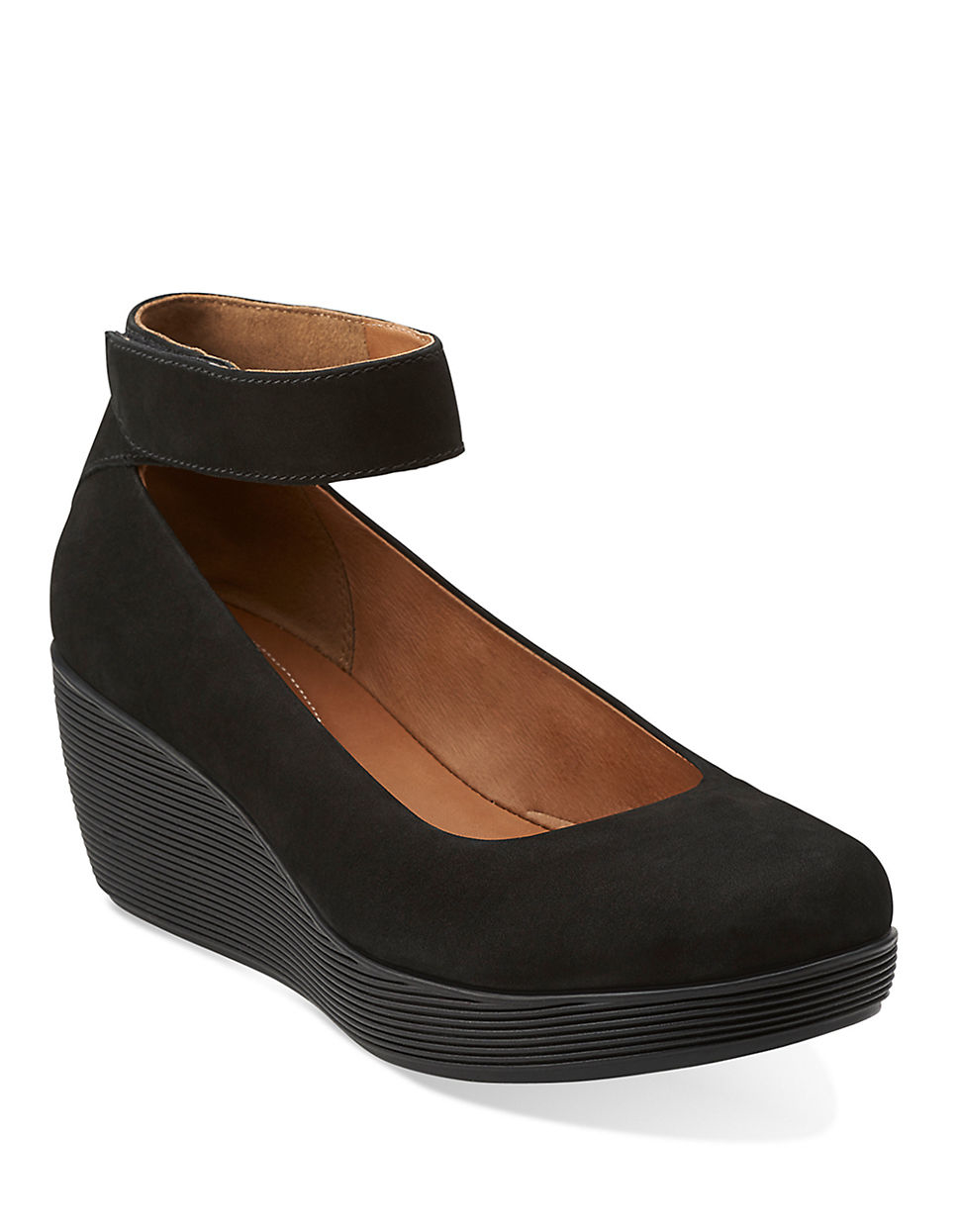 Lyst Clarks Claribel Fame Leather Mary Jane Platform