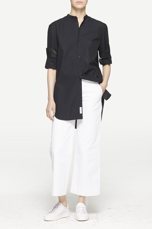 Lyst rag bone mulholland shirt in black for Rag bone shirt