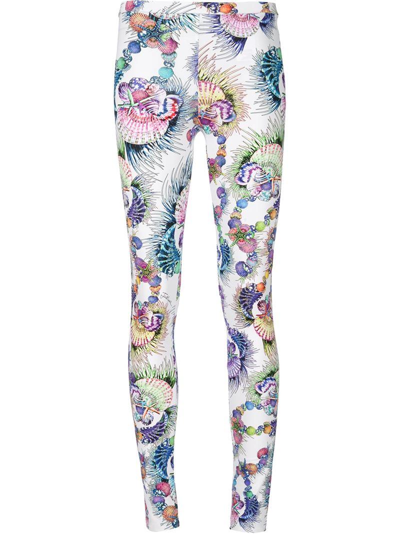 sea print jeans - White Roberto Cavalli 8AS3g