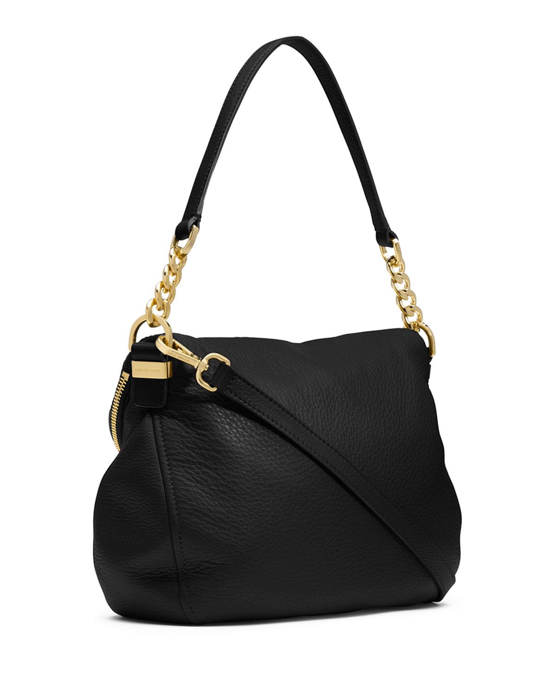 michael michael kors bedford medium tassel convertible shoulder bag in. Black Bedroom Furniture Sets. Home Design Ideas