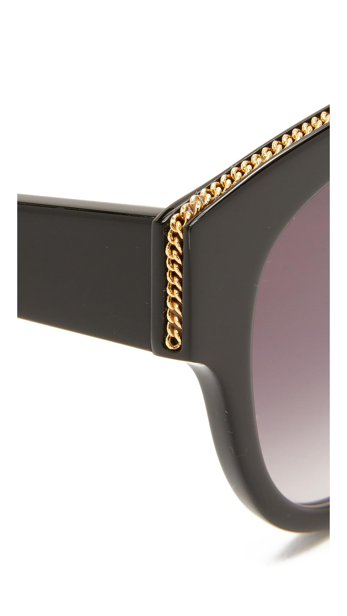 chain fringe sunglasses - Black Stella McCartney EY3CymH2