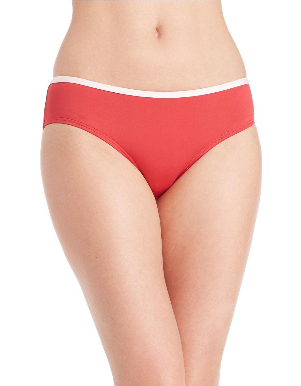 776c9103d4 Lyst - Kate Spade New York Plage Du Midi Hipster Bikini Bottom in Red