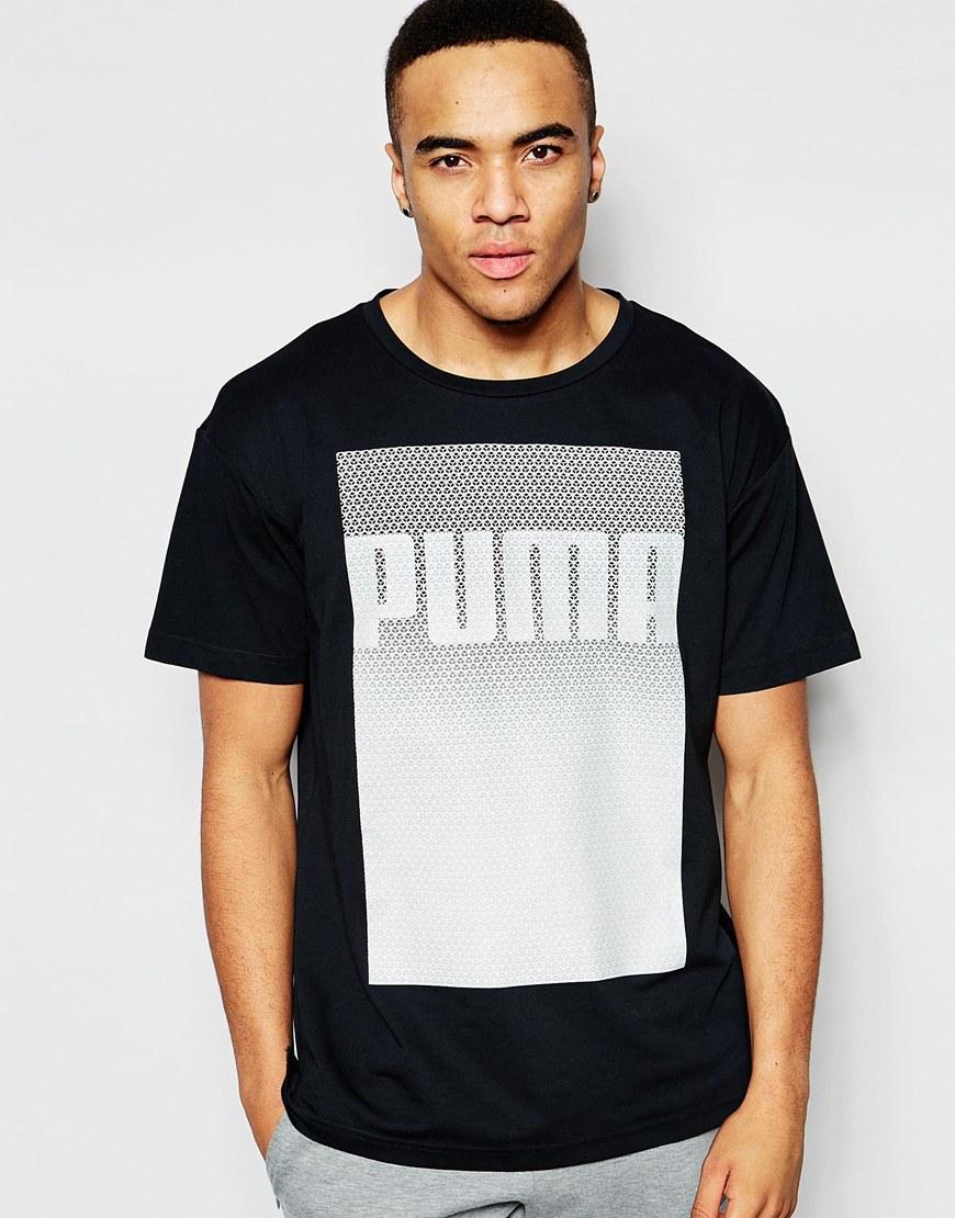 1717ddba PUMA Black Evolution Longline T-shirt for men
