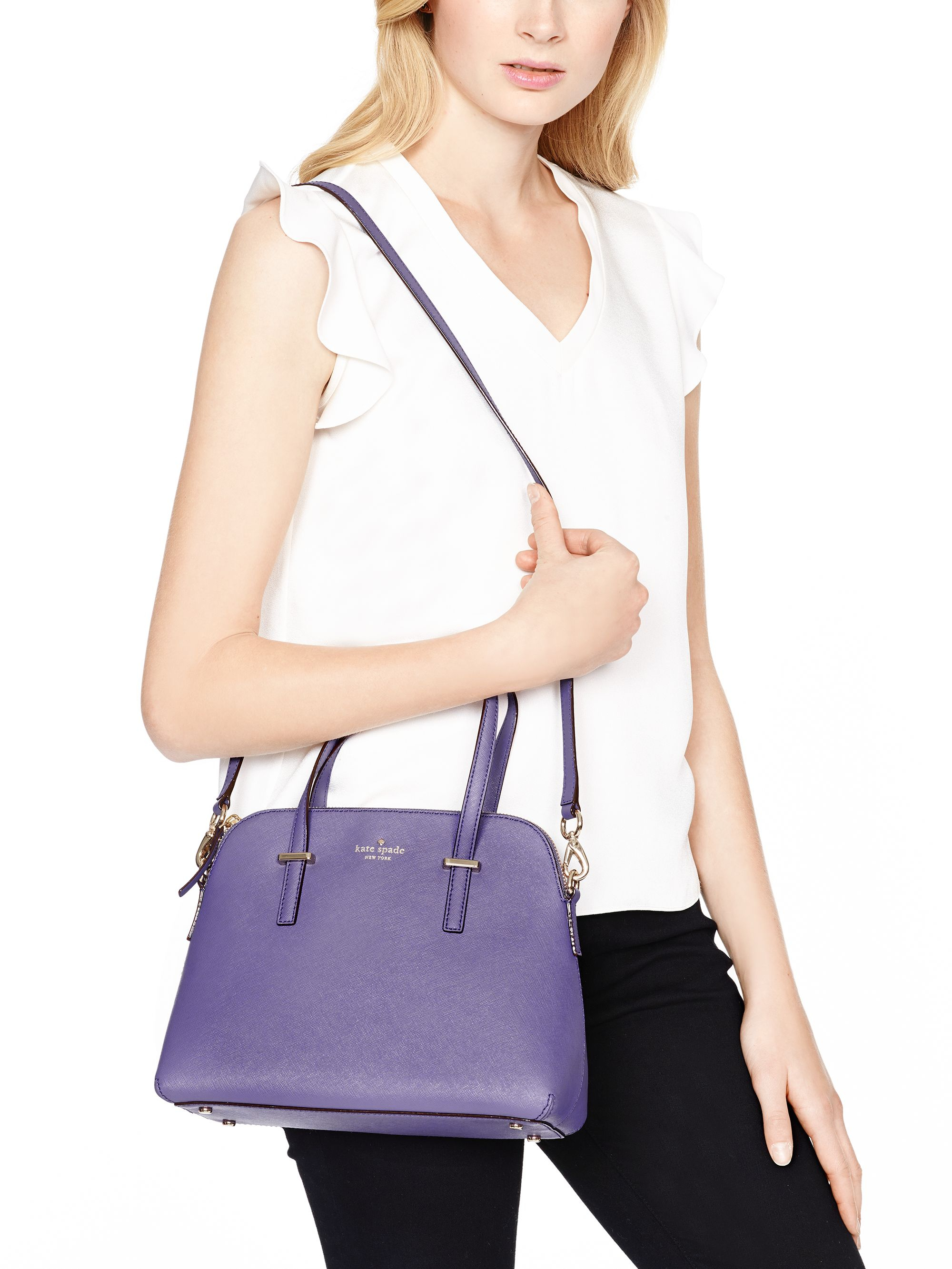 Kate spade Cedar Street Maise in Purple (mountbatten)