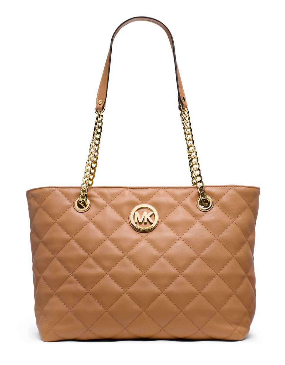 5d56eff861 Gallery. Previously sold at  Lord   Taylor · Women s Michael By Michael  Kors Fulton Women s Michael Kors Quilted Bag