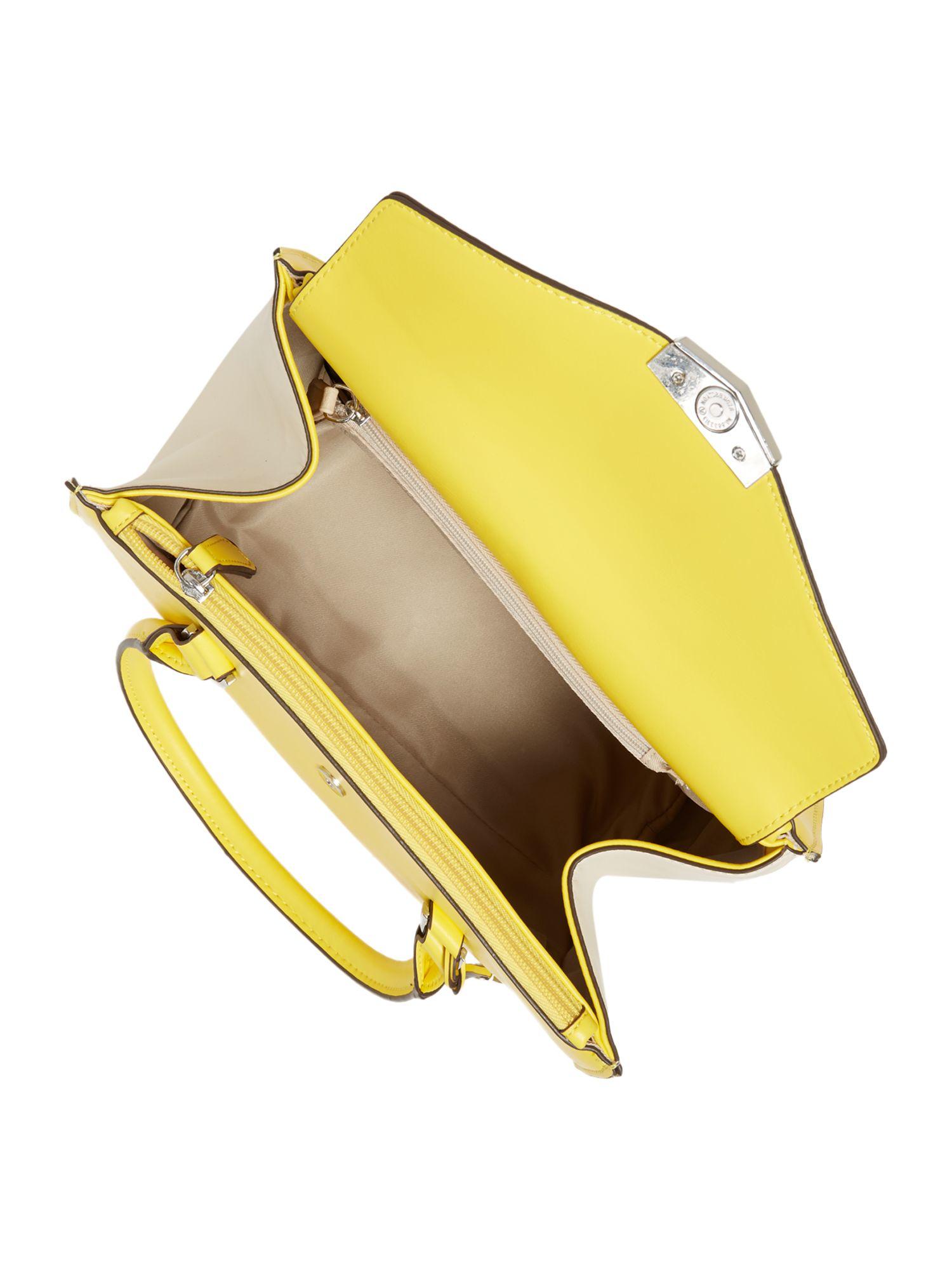 Fiorelli Conner Yellow Medium Tote Bag