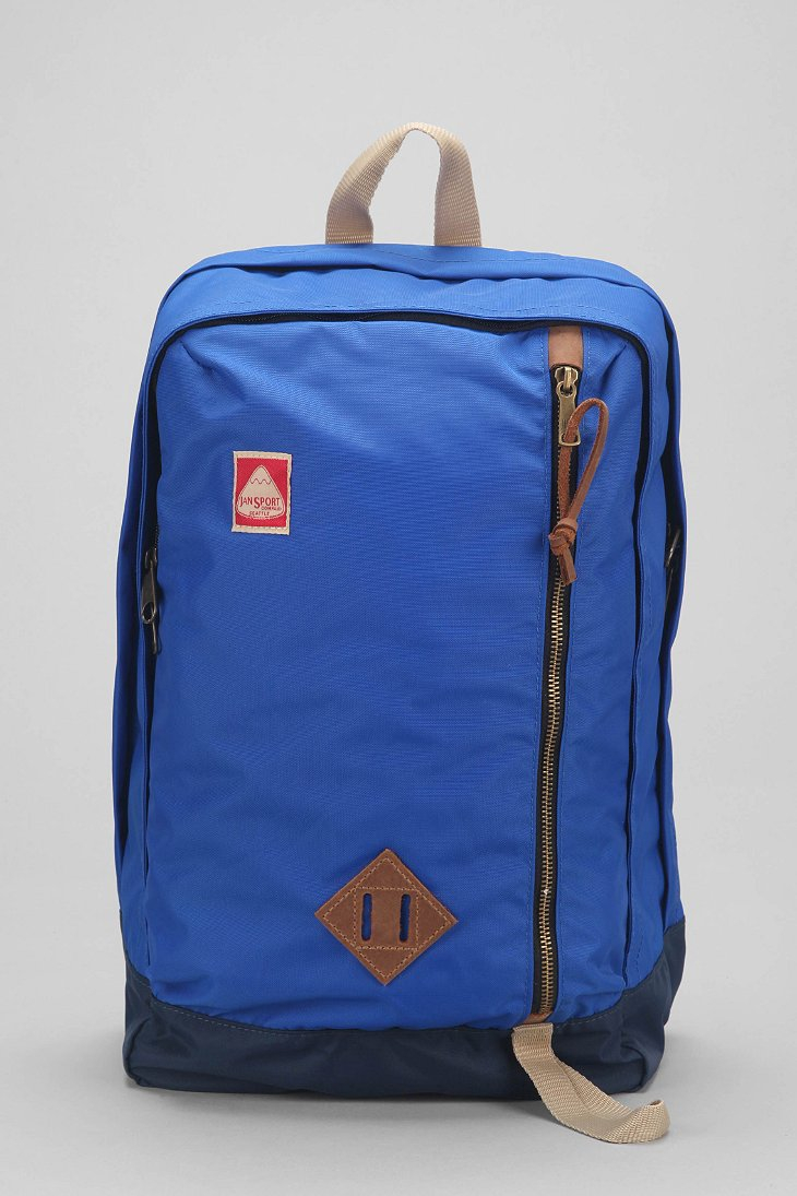 Jansport Jayhawk Backpack in Blue for Men | Lyst