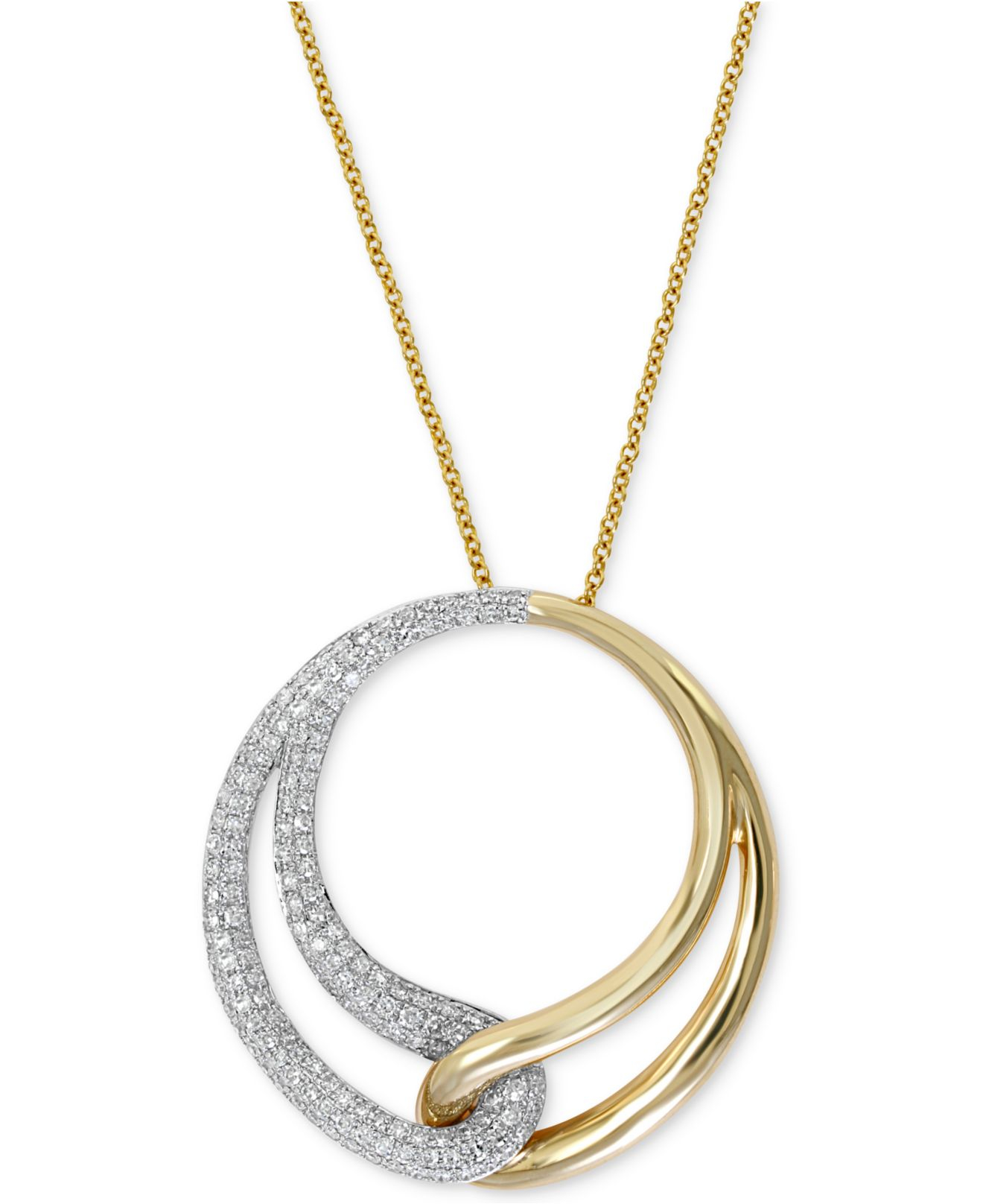 effy collection duo by effy interlocked circle