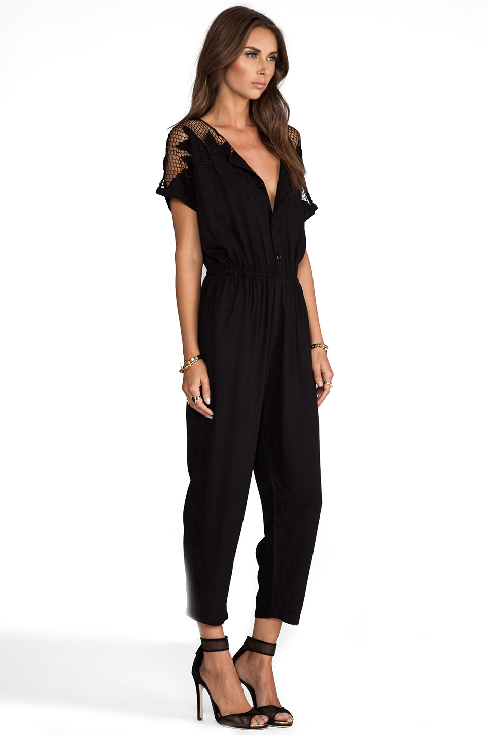 Lyst - Jens Pirate Booty Adventure Cat Suit In Black In Black-9450