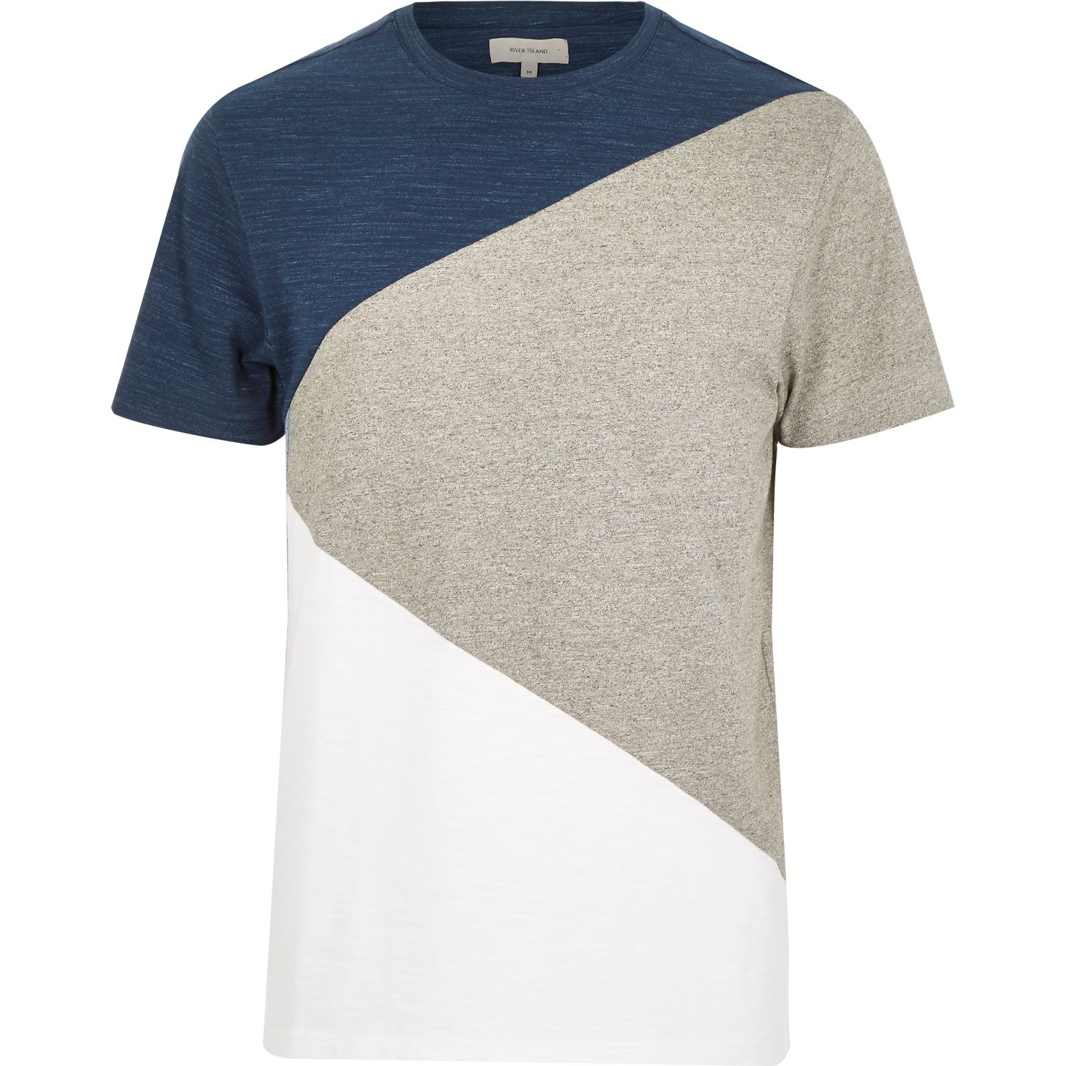 Color Block Shirt Mens