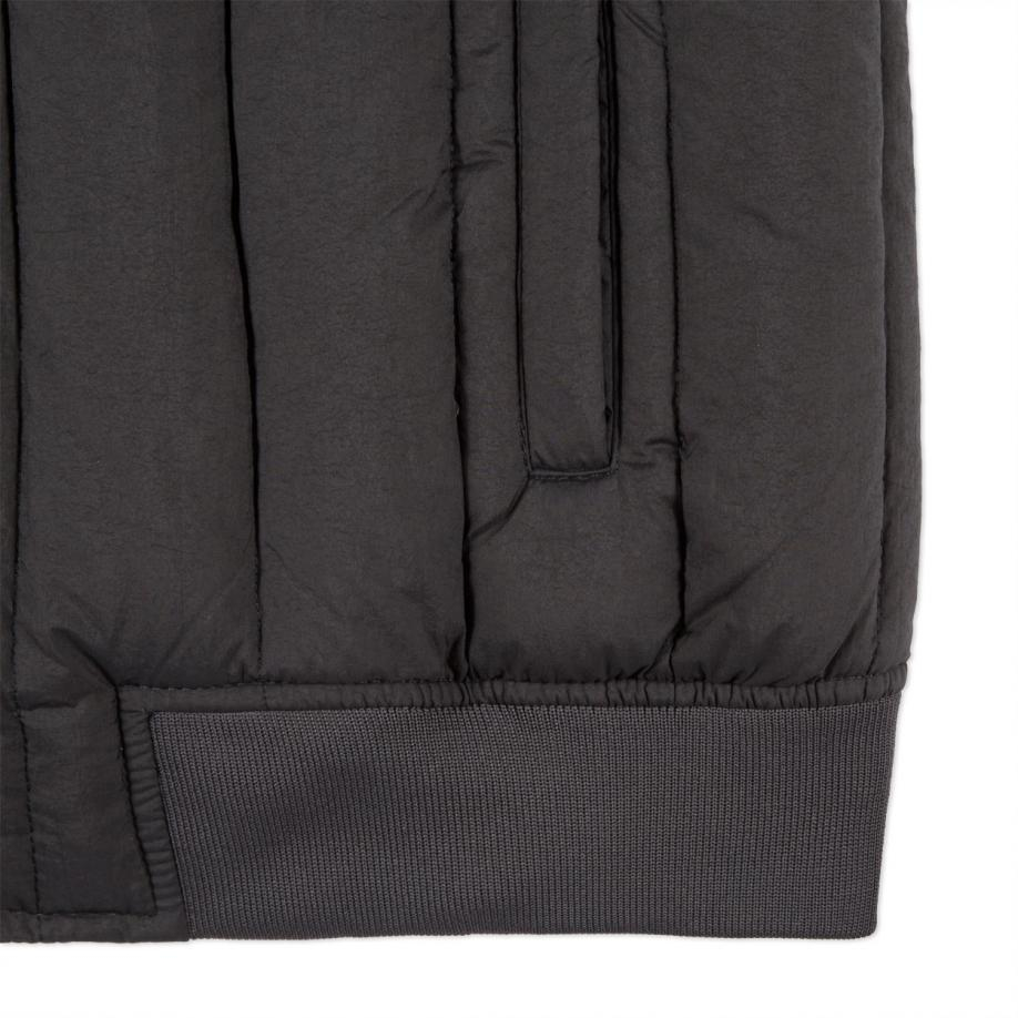 Lyst Paul Smith Men S Grey Down Filled Quilted Bomber