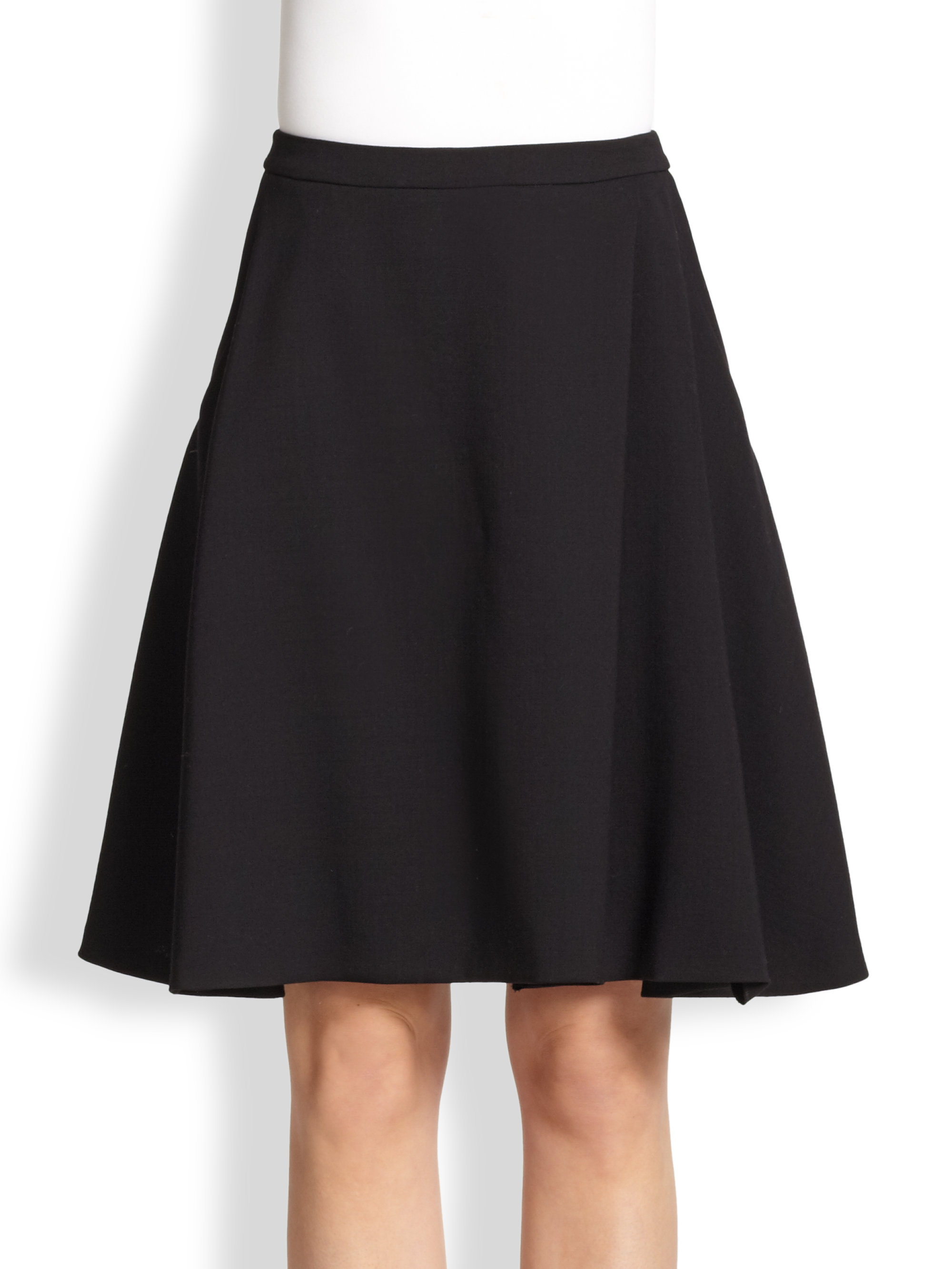 womens black a line skirt dress