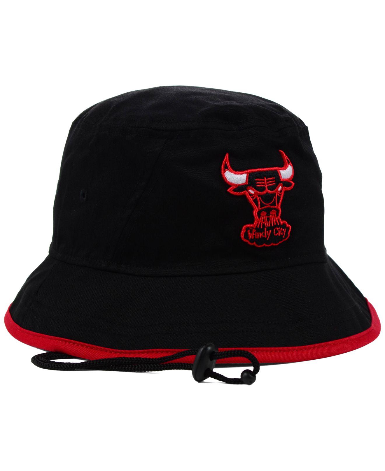 6c43be95b02 Lyst - KTZ Chicago Bulls Nba Hardwood Classics Basic Tipped Bucket ...