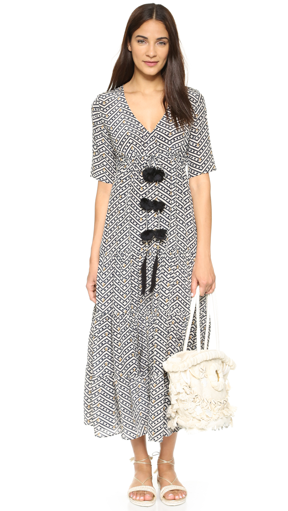 Lyst Figue Kalila Dress In White