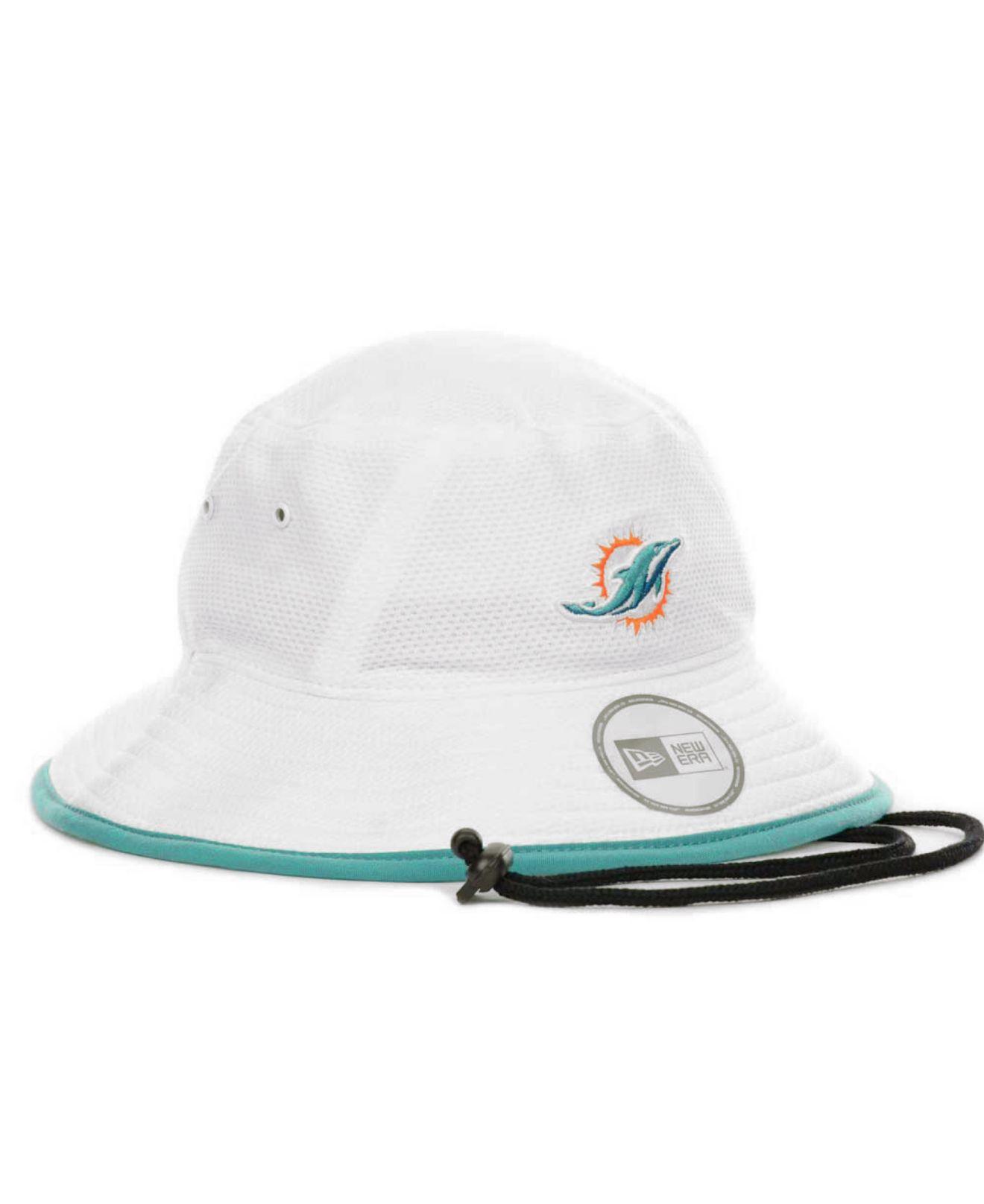 huge discount 0adc1 16a75 ... germany miami dolphins bucket hat new era cap 8822d 64d32