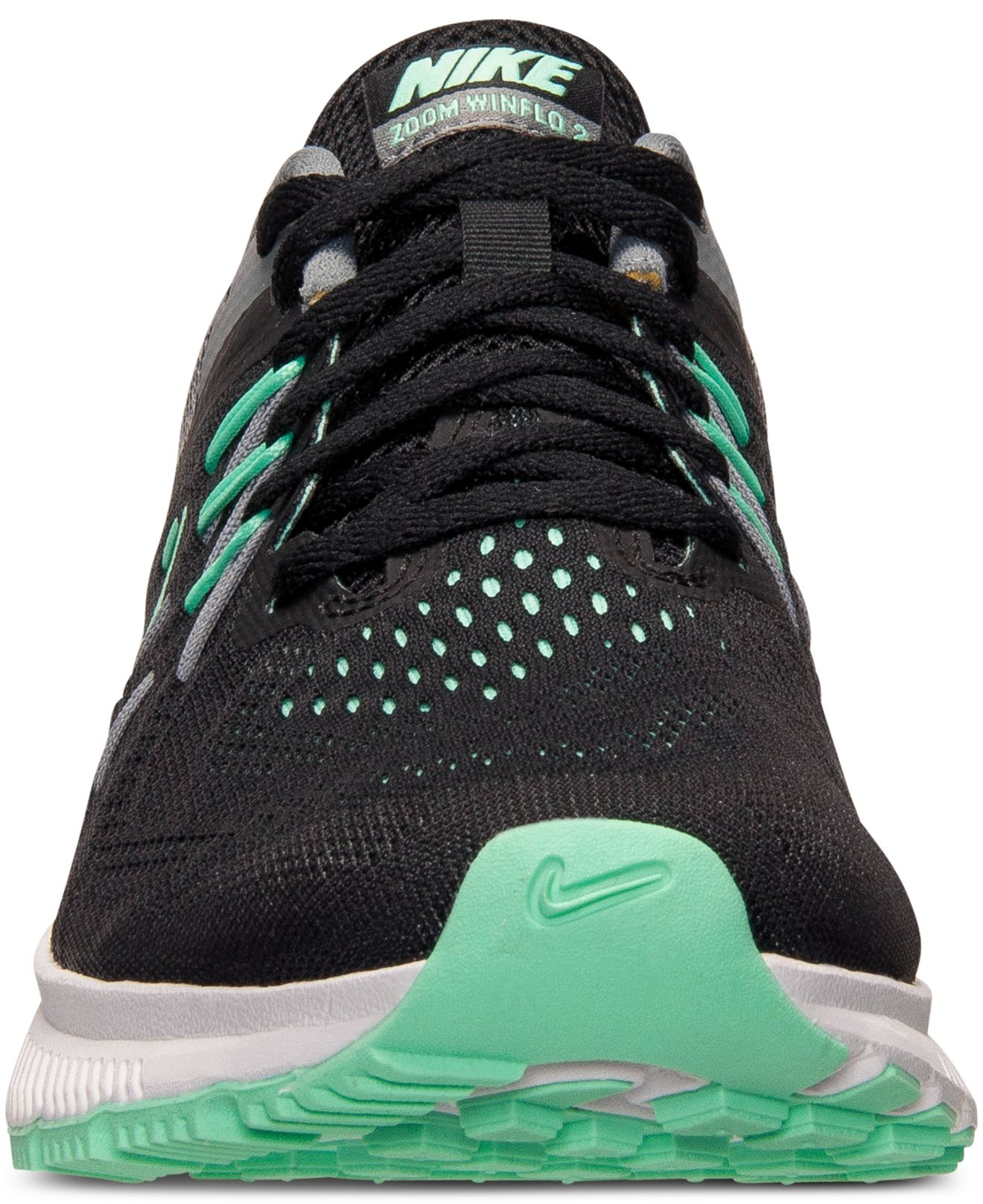 nike zoom winflo 2 womens blue green