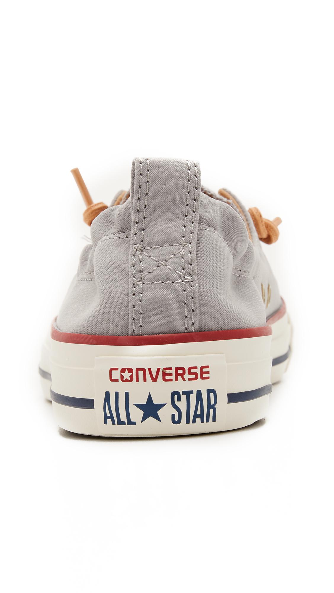 Converse Chuck Taylor All Star Shoreline Sneakers in Grey