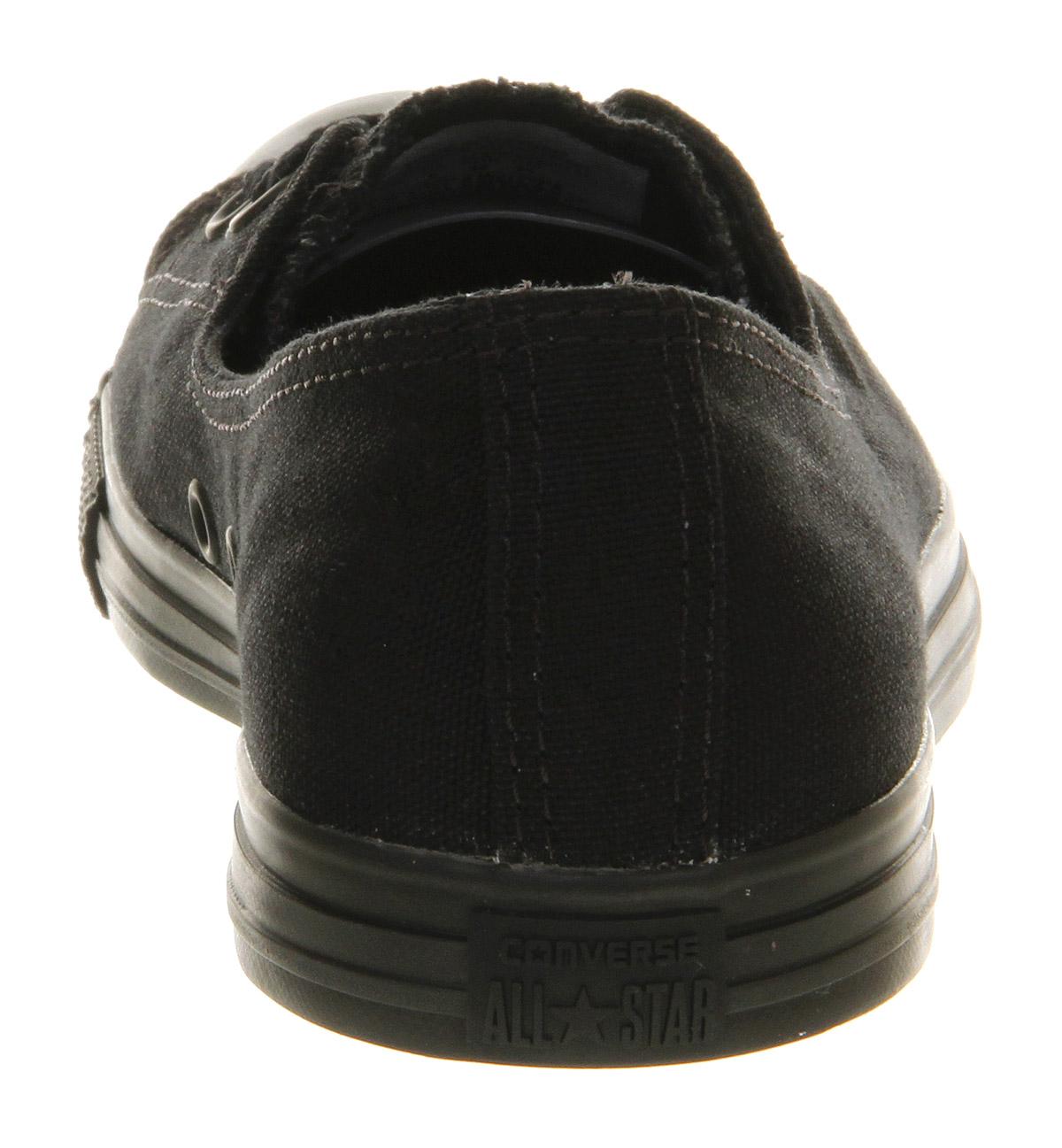 355a8f2fdf1c65 Lyst - Converse Dance Lace in Black