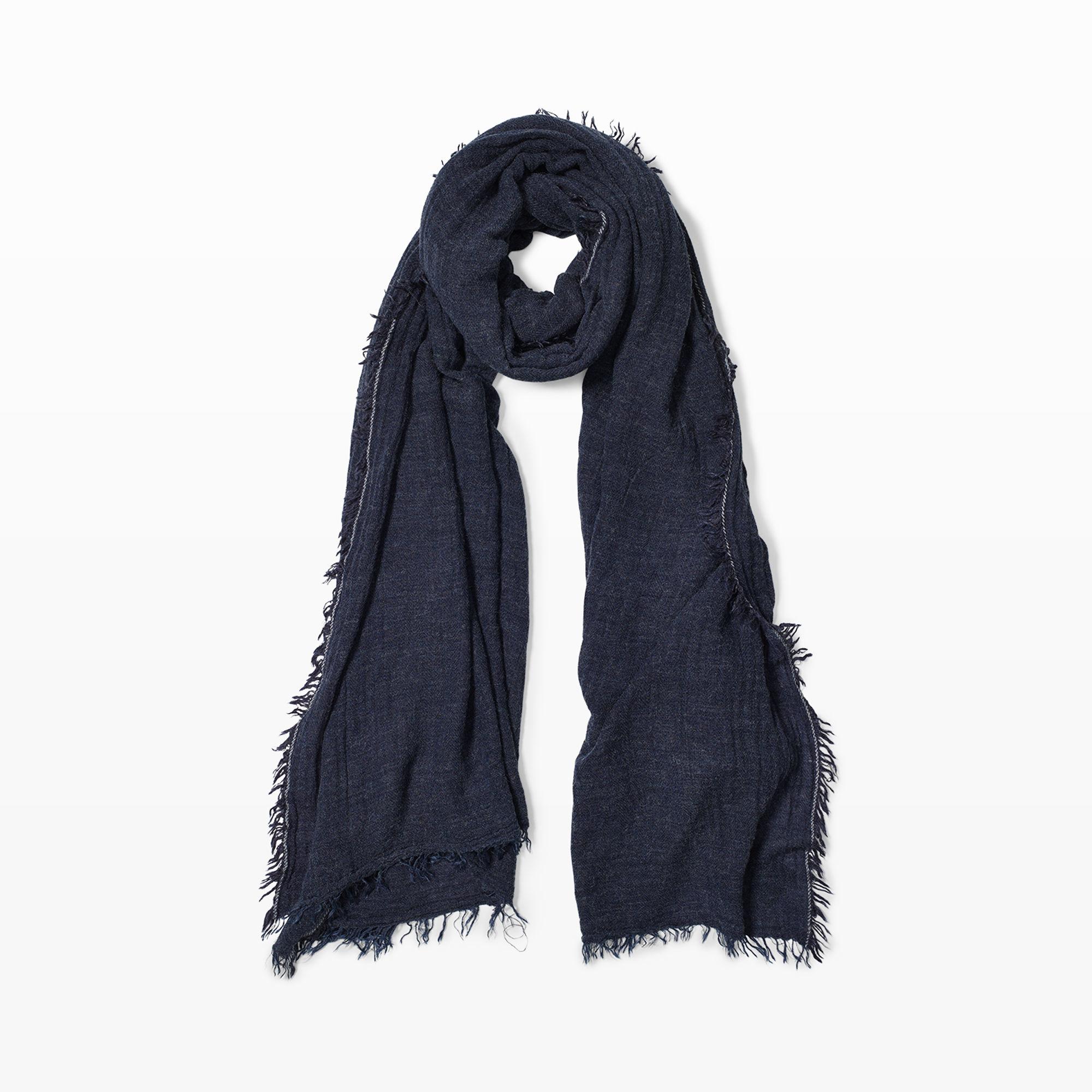 club monaco eloisa scarf in blue lyst
