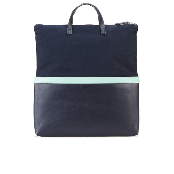 Want Les Essentiels De La Vie Men'S Peretola Foldable Folio Tote Bag in Navy (Blue) for Men