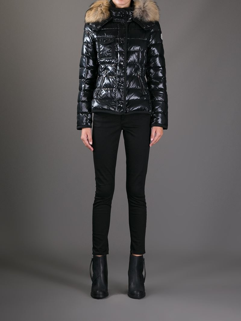 Moncler Fur 'Armoise' Jacket in Black Lyst