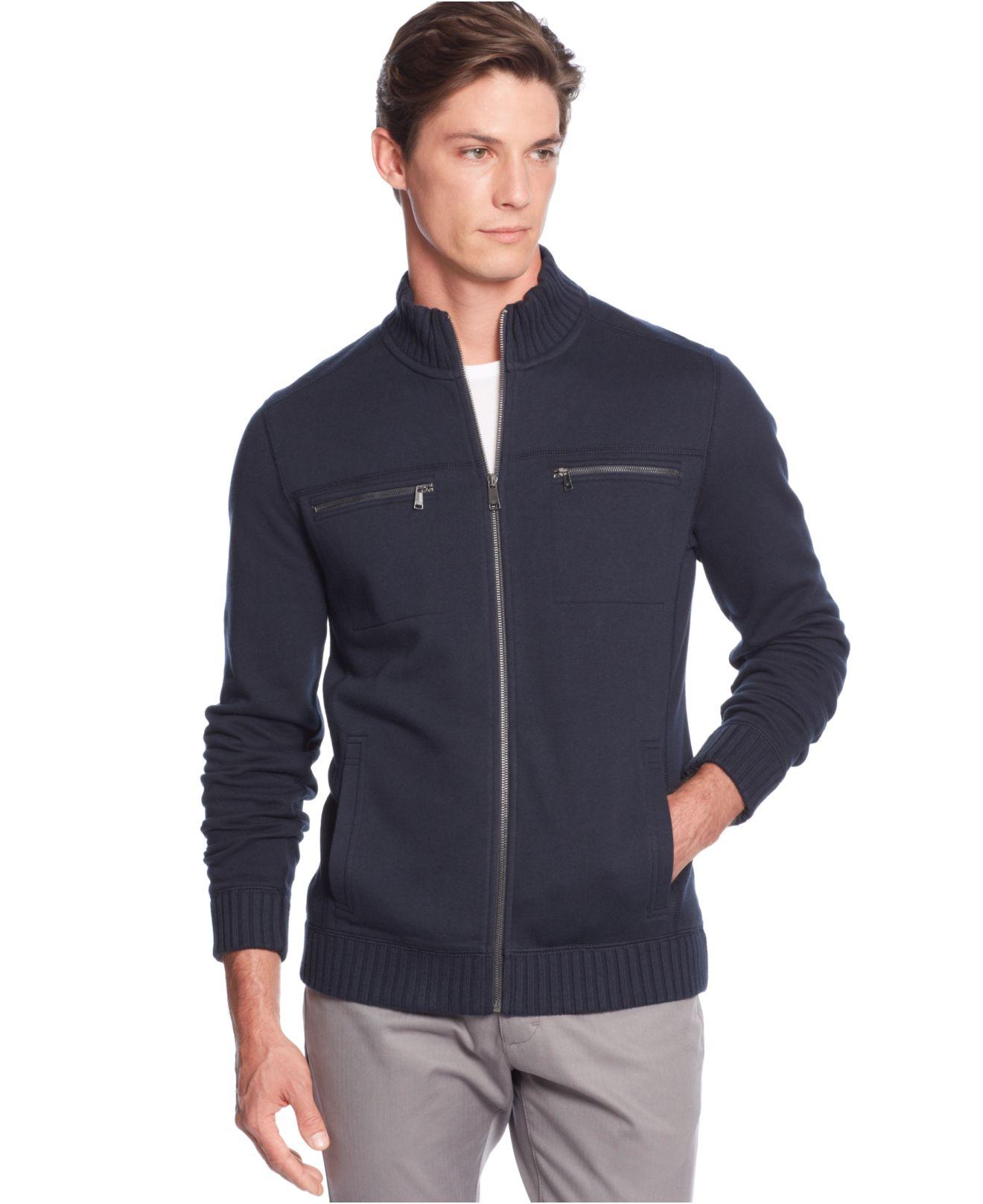 Calvin klein Full-Zip Solid Core Fleece Jacket