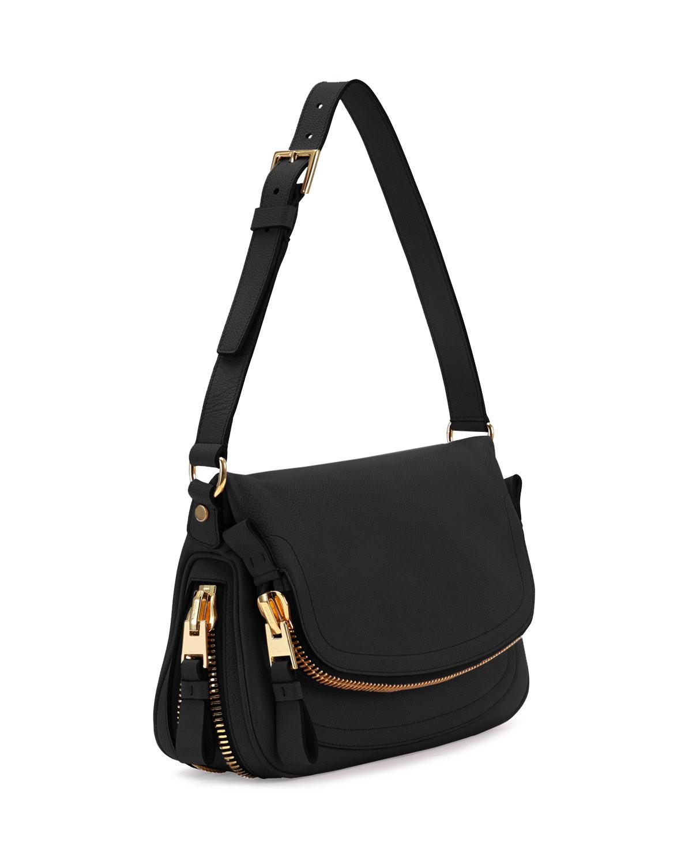 Popular Tom Ford Bags For Women  Tom Ford Calfskin Hobo Bag In Black  Lyst