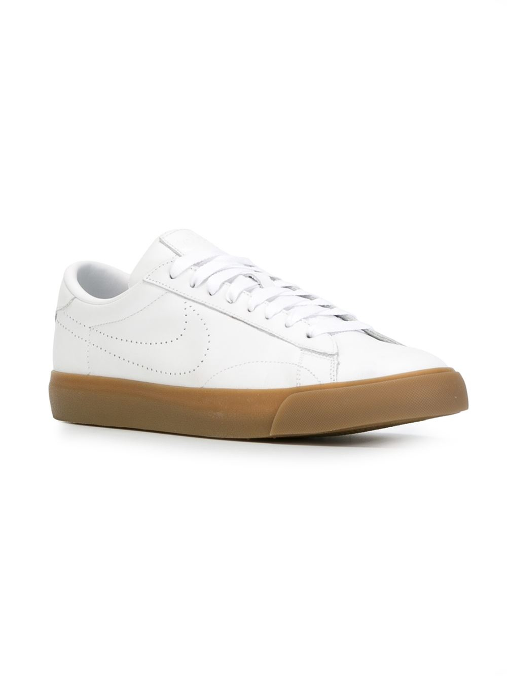 nike tennis classic ac sp sneakers in white lyst