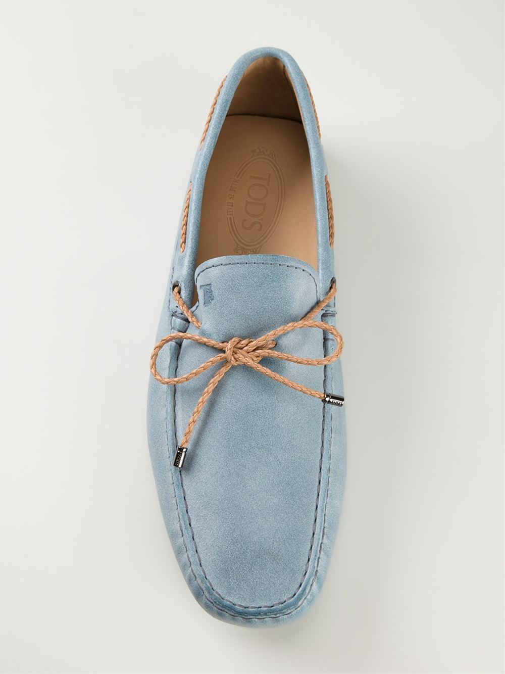 Tod's Loafers Gommino Men For Lyst Blue City In 7YyfIbgv6