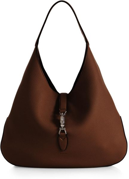 bd0b17ffdcac Gucci Jackie Soft Leather Hobo Bag   Stanford Center for Opportunity ...