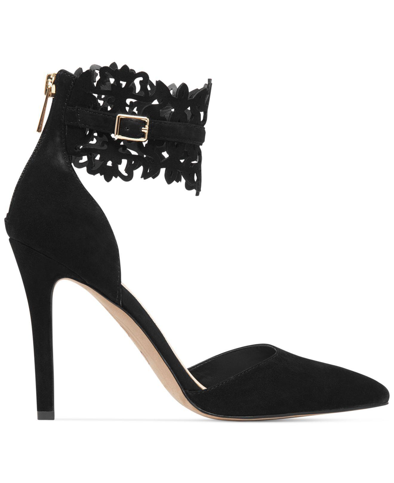 Jessica Simpson Portalynn Lace Ankle Strap Pumps bMbW1J