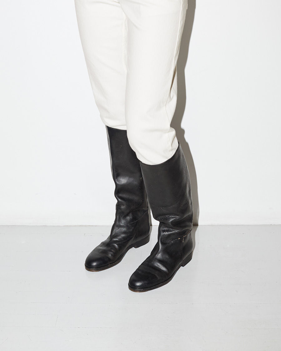 Lyst Golden Goose Deluxe Brand Holses Leather Knee High